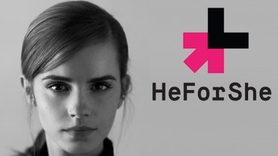 Emma Watson fronting the #HeForShe campaign