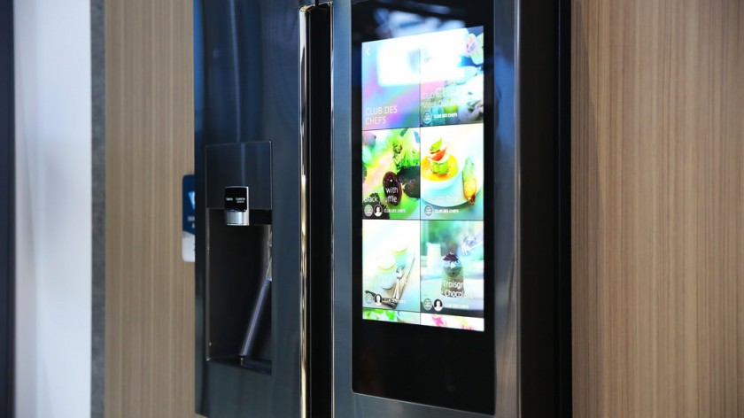 "Samsung's ""Family Hub Refrigerator"", coming soon to a kitchen near you..."