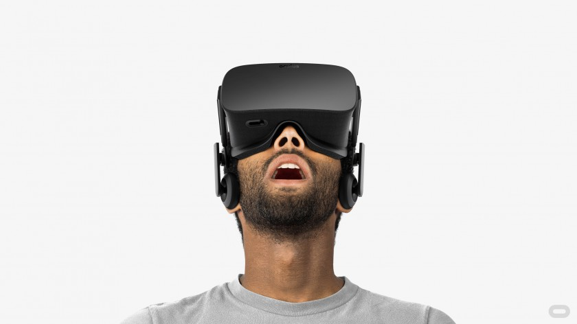 Oculus Rift, due to go on sale in April 2016