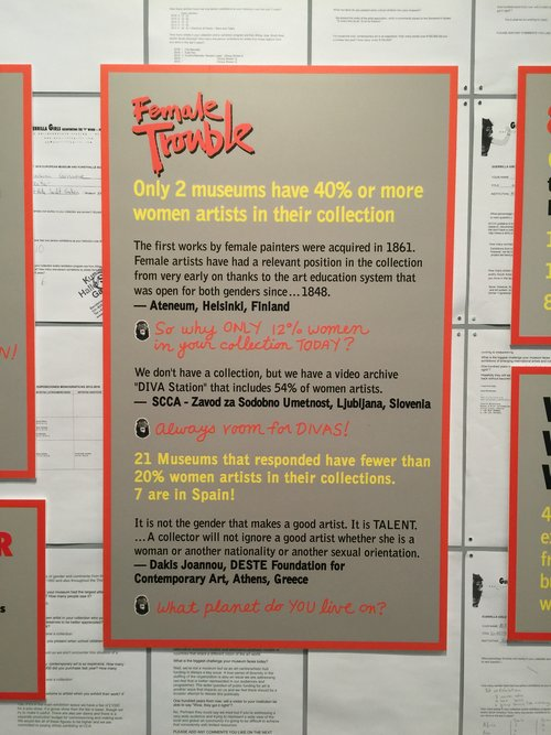 2016, Guerrilla Girls