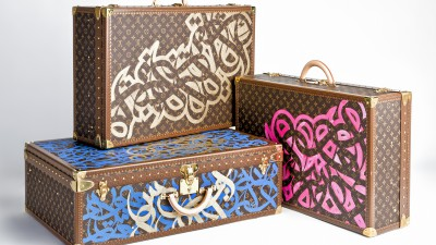 eL Seed: calligraffiti for LV