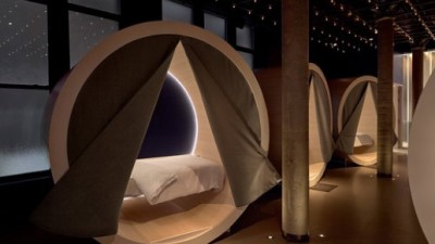 The Dreamery provides customers with private nap pods complete with a full bed and pyjamas