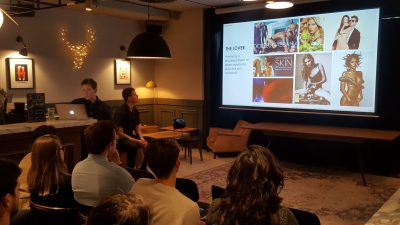 Elyse breaks down outdated female archetypes at Saatchi & Saatchi's London HQ