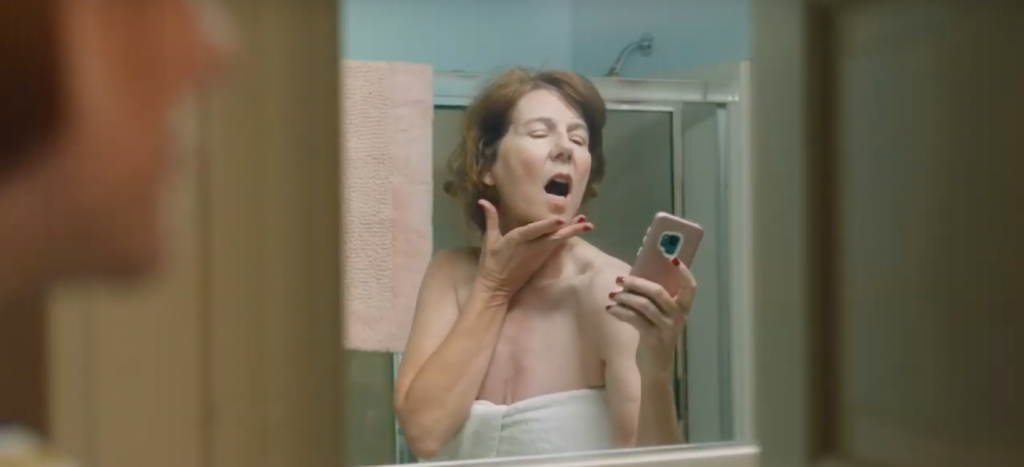 Snickers asks the big questions. Is a world where moms send nudes one we want to live in?