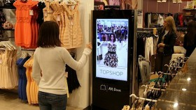 Topshop's Kinect fitting room