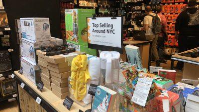 Top sellers in NYC
