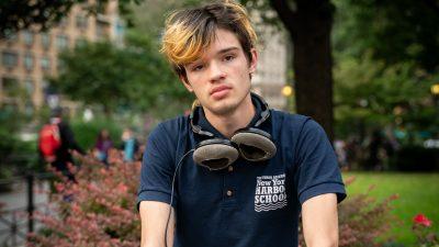 Jasper, 17, Bedford-Stuyvesant, NYC