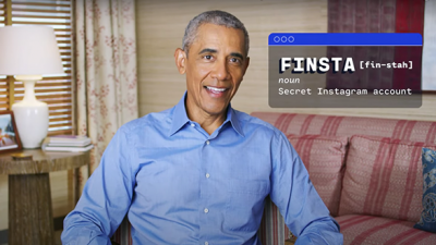 and ATTN: partnered with Obama in a video that uses TikTok references.