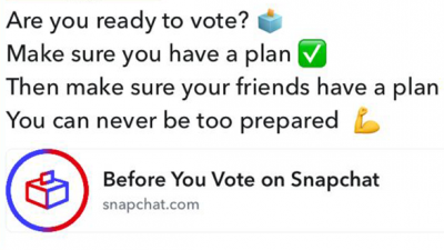 Snapchat is reaching users with direct language and emoji...